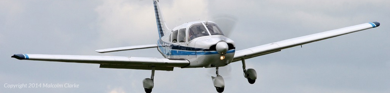 Piper PA28 Cherokee - Image Copyright Malcolm Clarke